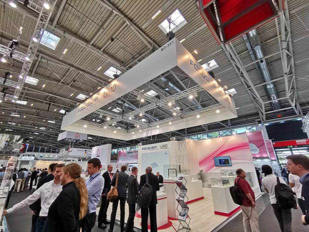Focuslight Exhibited at Laser World of PHOTONICS 2019 in Munich, Germany