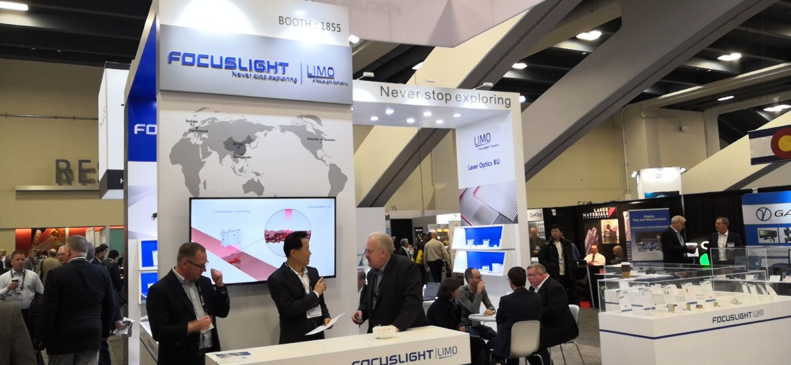 Focuslight Exhibited at Photonics West in San Francisco, USA